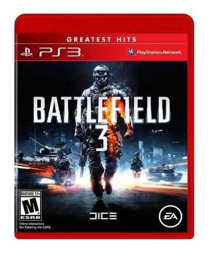 Battlefield 3 Greatest Hits Ps3 Mídia Física Lacrado