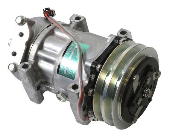 Compresor Aire Acondicionado Scania D9 Serie 4