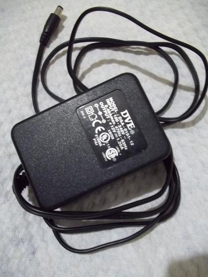 Carregador Dve Output 12v 1.25a Para Pc