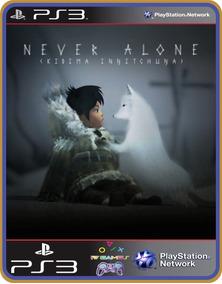 Never Alone (kisima Ingitchuna) Psn Ps3 - Mídia Digital