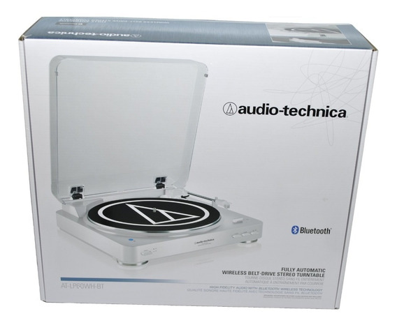 Toca Discos Stereo Bluetooth Audio Technica At-lp60xbt-wh Bi Volt