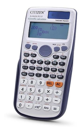 Calculadora Cientìfica Citizen Fx-991es Escolar Importada