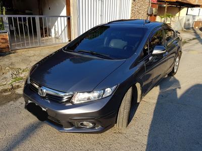Honda Civic 2.0 Exr Flex Aut. 2014 Teto Solar - Completão