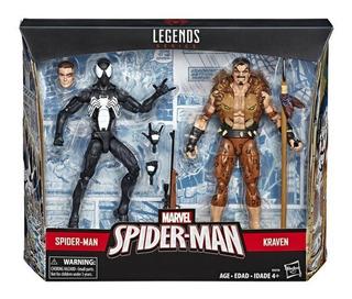 Marvel E5210 2 Pack Figuras Spider-man Y Kraven 6 Pulgadas M