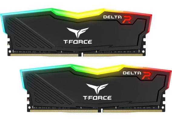 Team T-force Delta Ii Rgb Series 8gb(2 X 4) Ddr4 3000mhz