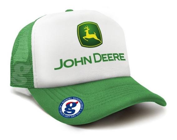 Gorra Trucker Camionera John Deere Calidad Varios Colores
