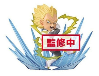 Dragon Ball Super Wcf Burst Vegeta Ssj (original) Banpresto