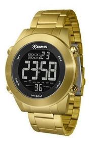 Relógio X Games Masculino Ref: Xmgsd001 Pxkx Digital Dourado