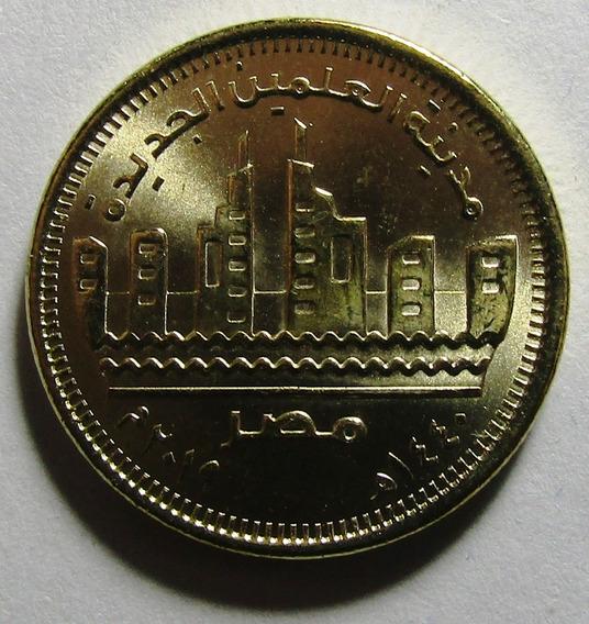 Egipto Moneda 50 Piastres 2019 Almacen Ciudad Unc