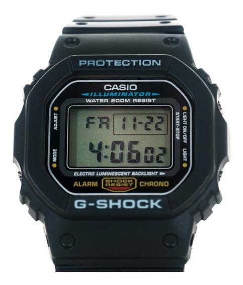 Relógio G-shock Dw5600 Clássico Dw-5600e-1vd Original