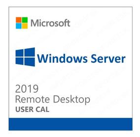 10 Cal Acesso Remoto Rds/ts Windows Server 2019 User/device