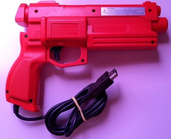 Game Gun Sega Saturn Original E Funcionando 100% Perfeita