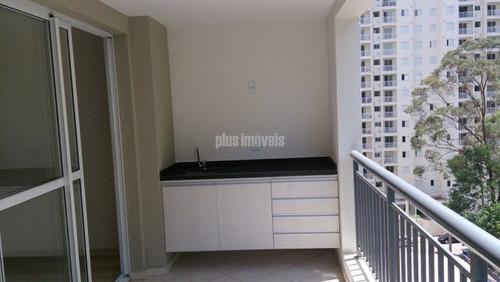 Moderno Com Bela Varanda E Dois Dormitorios. - Pp1471