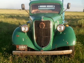 Ford V8 Antiguedad- Vehiculo Antiguo Coleccion