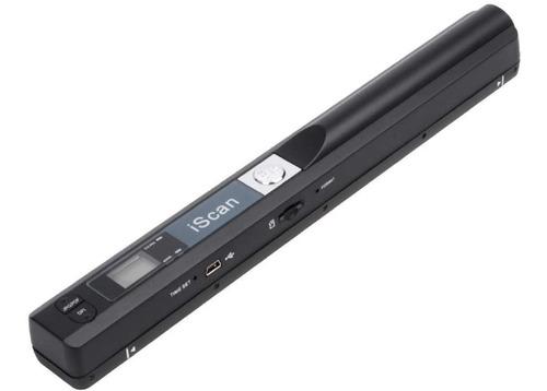 Scanner Color Portátil Iscan Micro Sd 900 Dpi A4 Alta Defin.