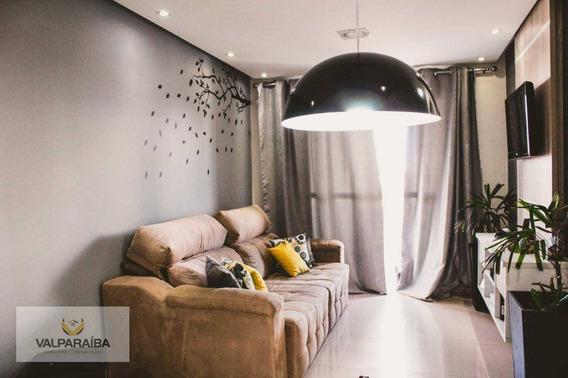 Apartamento À Venda, 60 M² Por R$ 290.000,00 - Parque Industrial - São José Dos Campos/sp - Ap0418