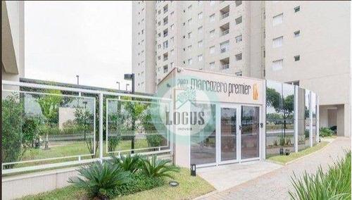 Imagem 1 de 17 de Apartamento Com 3 Dormitórios No Condomínio Marco Zero Premier À Venda, 84 M² Por R$ 640.000 - Rudge Ramos - São Bernardo Do Campo/sp - Ap1844
