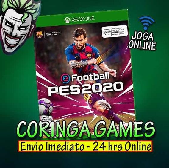 Pes 20 Xbox One Midia Digital + 2 Brinde