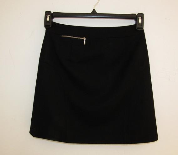 Falda Negra Moda Japonesa Talla Extra Chica