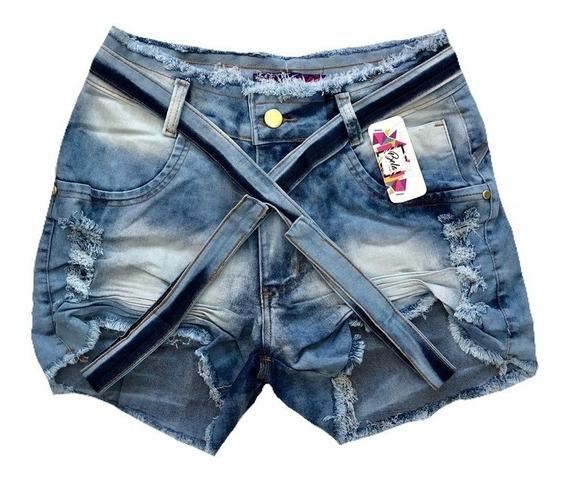 Roupas Femininas Short Jeans Plus Size 44 Ao 58