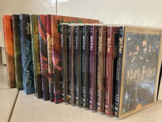 Livro Colecao Harry Potter + 8 Fimes (original Lacrado)