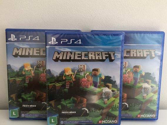 Jogo Minecraft Playstation 4 Edition M Física LG Pr Brasil