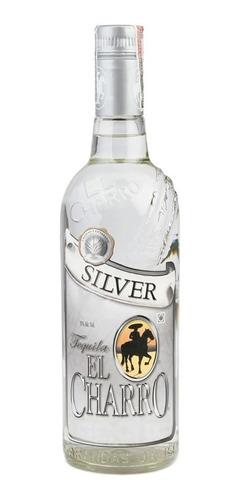 Imagen 1 de 3 de Tequila El Charro Silver 750ml