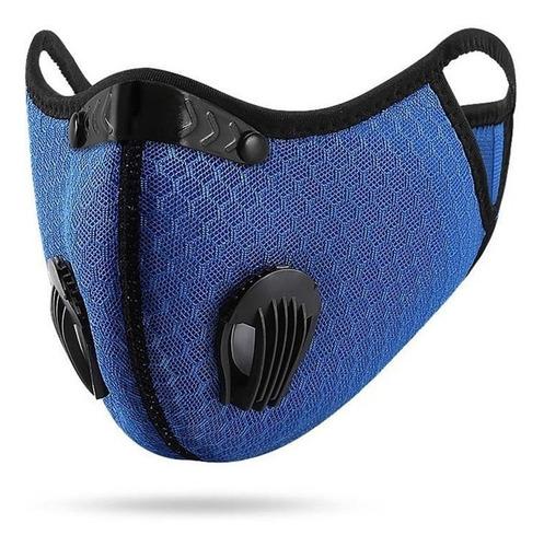 Mascara Antipolución Motos Ciclismo Con Filtro N95