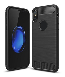 Funda iPhone X Xs Xr Xs Max Soft Tpu Negra Shockproof