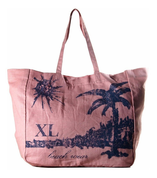 Suple Tote Azul Carteras Xl Extra Large