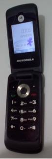 Celular Motorola Wx295 Gsm Com Camera - Cor Preto