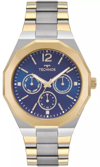 Relógio Analógico Technos Feminino Bicolor - 6p29ajd/4a