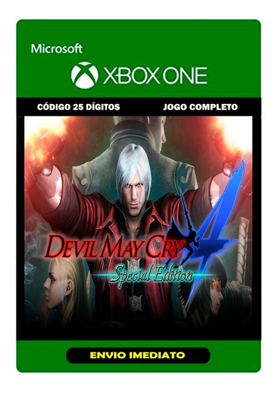 Devil May Cry 4 Special Edition - Xbox One - 25 Dígitos