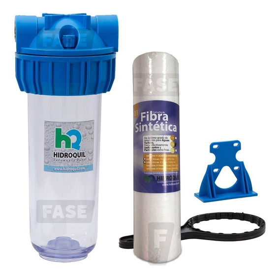 Filtro Agua 10´´ Hidroquil 5 Micrones Anti Suciedad Arenilla