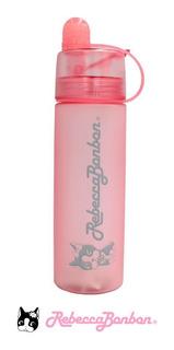 Garrafa Feminina Spray Academia Rebecca Bonbon