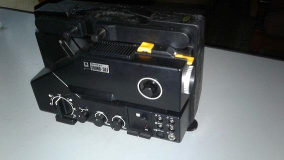 Projetor Super-8 Sankyo Sound 501 + Splicer Roll