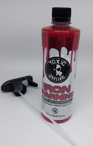 Toxic Shine Iron Warning-  Highgloss Rosario