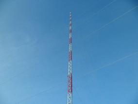 Torre Auto Portante Galvanizada 50 Metros Com Estaio