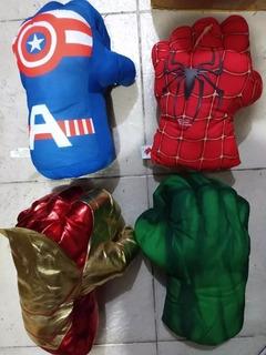 Guante Acolchado Puño De Araña- Capitan-hulk-iron Man 25cm