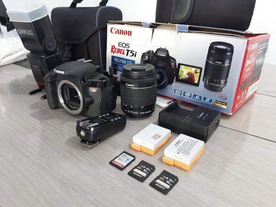 Canon T5i + Flash Yn560 Iii + Rádio Yongnuo