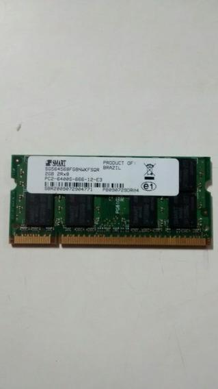 Memoria Notebook Ddr2 2gb 800mhz Frete Gratis Baixou Preço