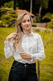 Camisa Kyrillos Feminina Fio 60 100% Algodão Ref. K17000915