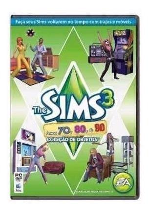 The Sims 3 - 70 80 90 - Pc - Original Lacrado