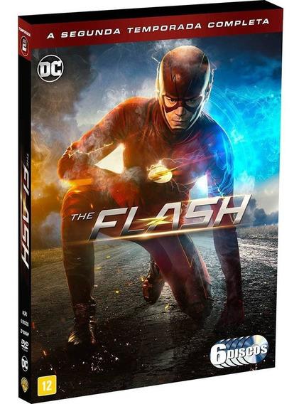 Dvd The Flash 2ª Temporada - 6 Discos - Original & Lacrado