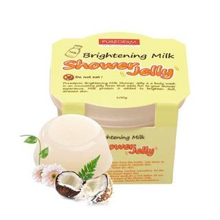 Purederm - Shower Jelly - Brightening Milk (sabonete Geléia)