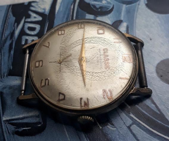 Relógio Classic Corda Manual