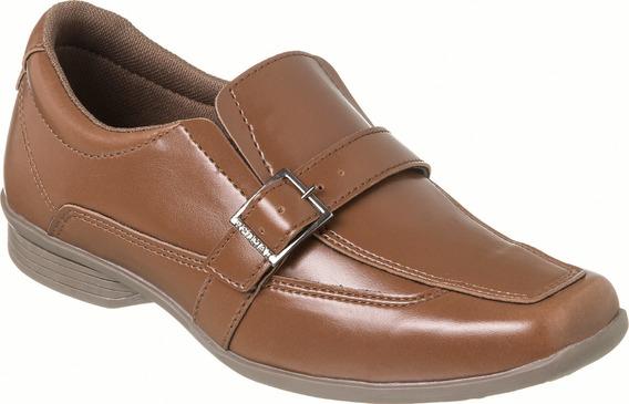 Sapato Social Com Cinto Infantil Menino Redmax A/b932-603
