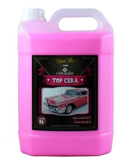 Cera Líquida Carnaúba Concentrada 5l - Top Cera - Cadillac