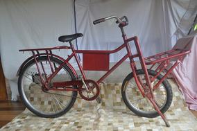 Bicicleta Bagageira Monark Da Década De 60