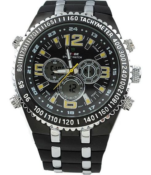 Relógio Masculino Anadigital Weide Wh-1107 Oferta